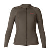 WOMENS AXIS 2/1MM L/S FRONT ZIP TOP SP18