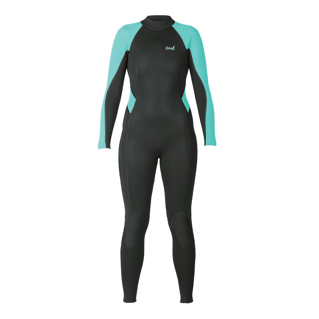 WOMENS AXIS FLATLOCK BACKZIP 3/2MM FULLSUIT SP20