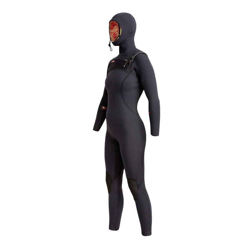 WOMENS COMP X HOODED 4.5/3.5MM FULLSUIT FA20
