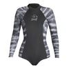 WOMENS WATER INSPIRED AXIS LONG SLEEVE BACK ZIP 2MM SPRINGSUIT SP20