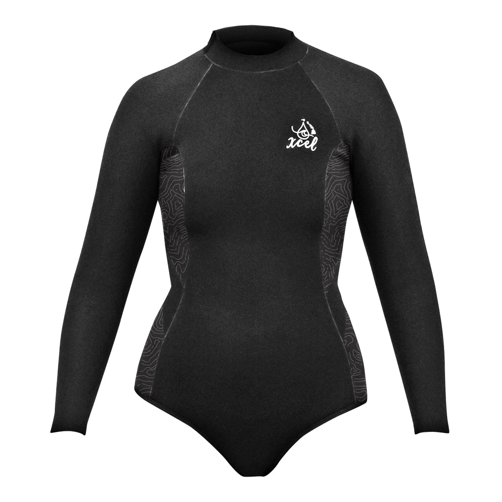WOMENS WATER INSPIRED AXIS LONG SLEEVE 3/2 MM SPRINGSUIT SP21