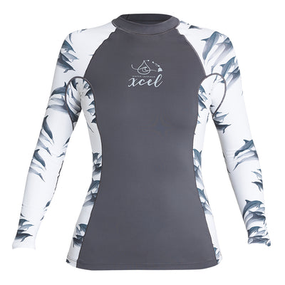 WOMENS WATER INSPIRED 6OZ LONG SLEEVE W/KEY POCKET UV SP20