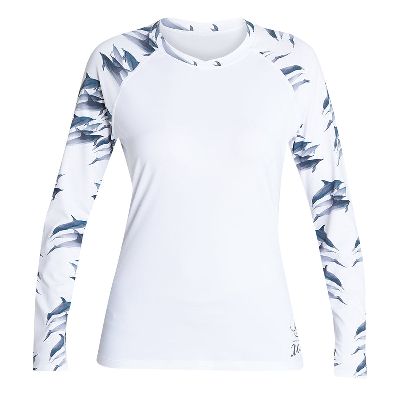 WOMENS WATER INSPIRED VENTX LONG SLEEVE UV SP21