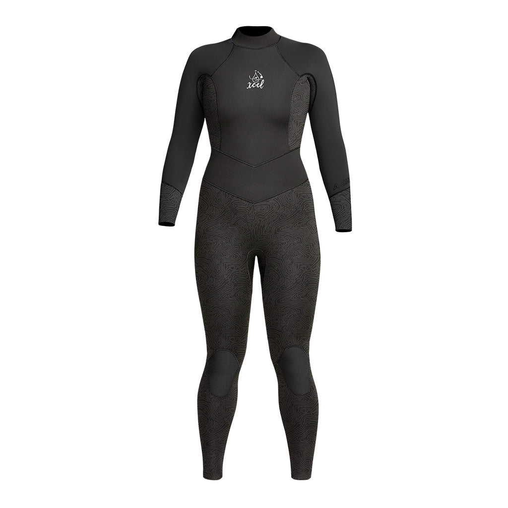 WOMENS WATER INSPIRED DIVE AXIS 3/2MM FULL WETSUIT SP21