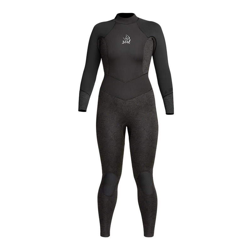WOMENS WATER INSPIRED DIVE AXIS 3/2MM FULLSUIT FA20