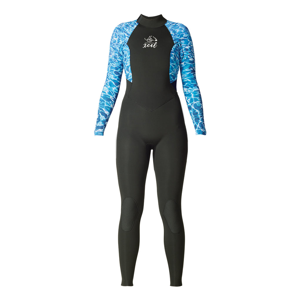 WOMENS WATER INSPIRED AXIS BACK ZIP 3/2MM FULLSUIT SP20