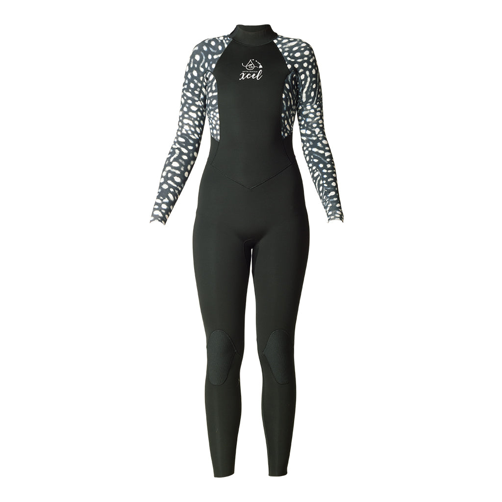 WOMENS WATER INSPIRED AXIS BACK ZIP 4/3MM FULLSUIT SP20