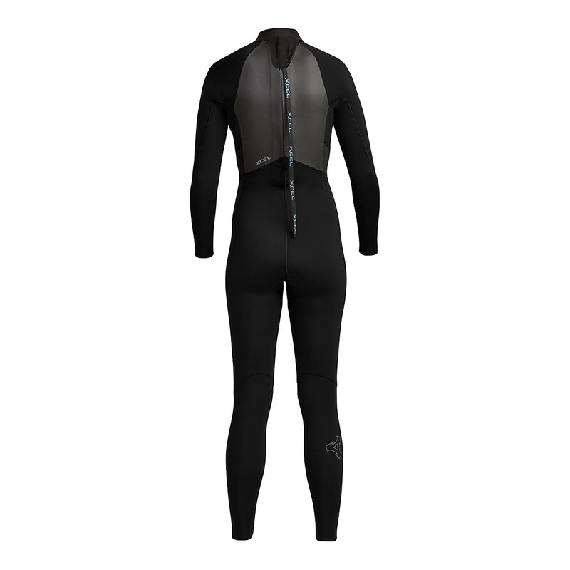 WOMENS AXIS BACK ZIP 3/2MM FULLSUIT FA19