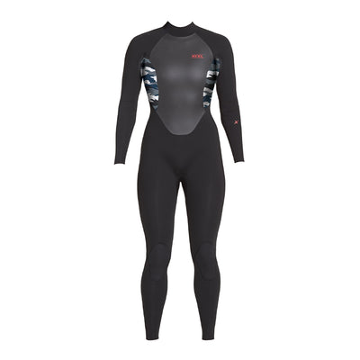 WOMENS AXIS X BACK ZIP 3/2MM FULLSUIT FA19