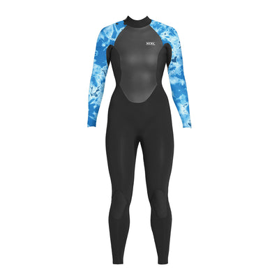 WOMENS AXIS X BACK ZIP 4/3MM FULLSUIT FA19