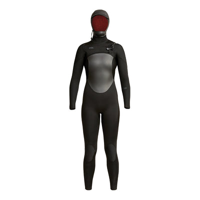 WOMENS AXIS HOODED 5/4MM FULLSUIT FA19