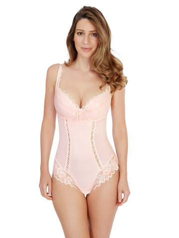 Fiore Plunge Body in Soft Pink