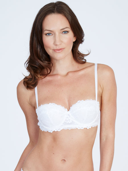 Maddie Galloon White Bra