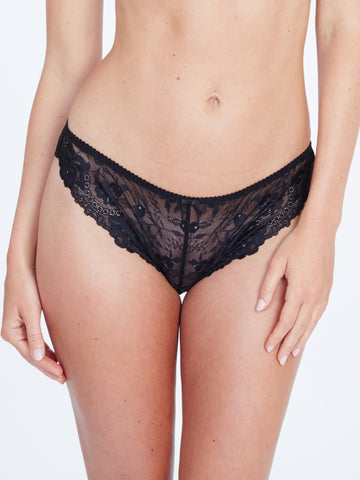 Maddie Galloon Brief Black
