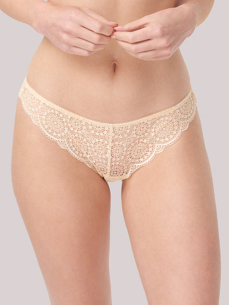 Sophia Brazilian Brief in Gold