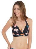Tropical Halter Triangle Top