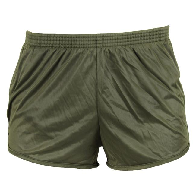 SOFFE AUTHENTIC PANTY RUN SHORT - OD GREEN