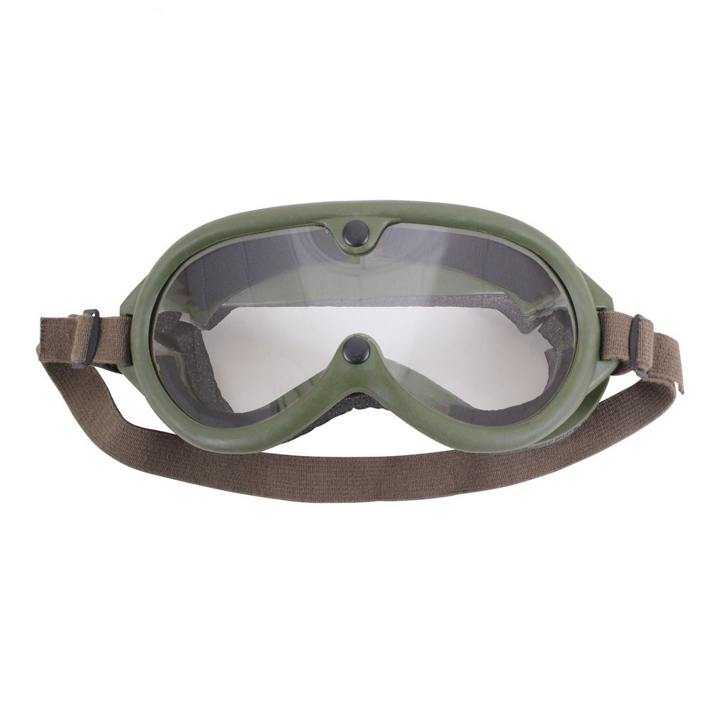 G.I. TYPE SUN, WIND & DUST GOGGLES - OLIVE DRAB