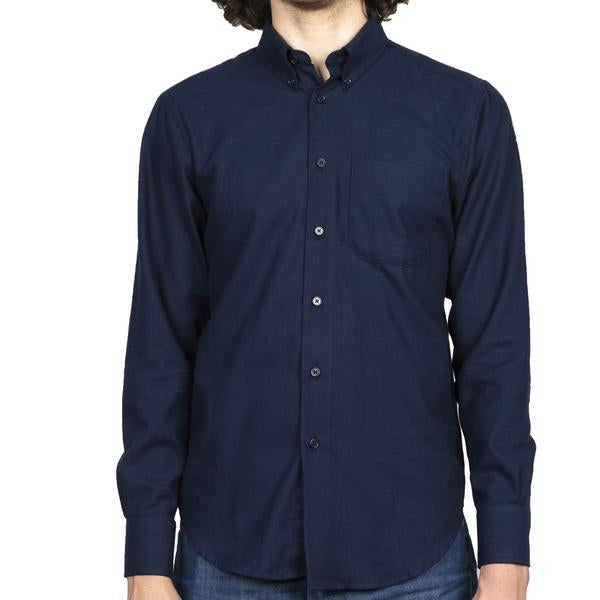 MEN'S EASY SHIRT - SOFT TWILL - NAVY