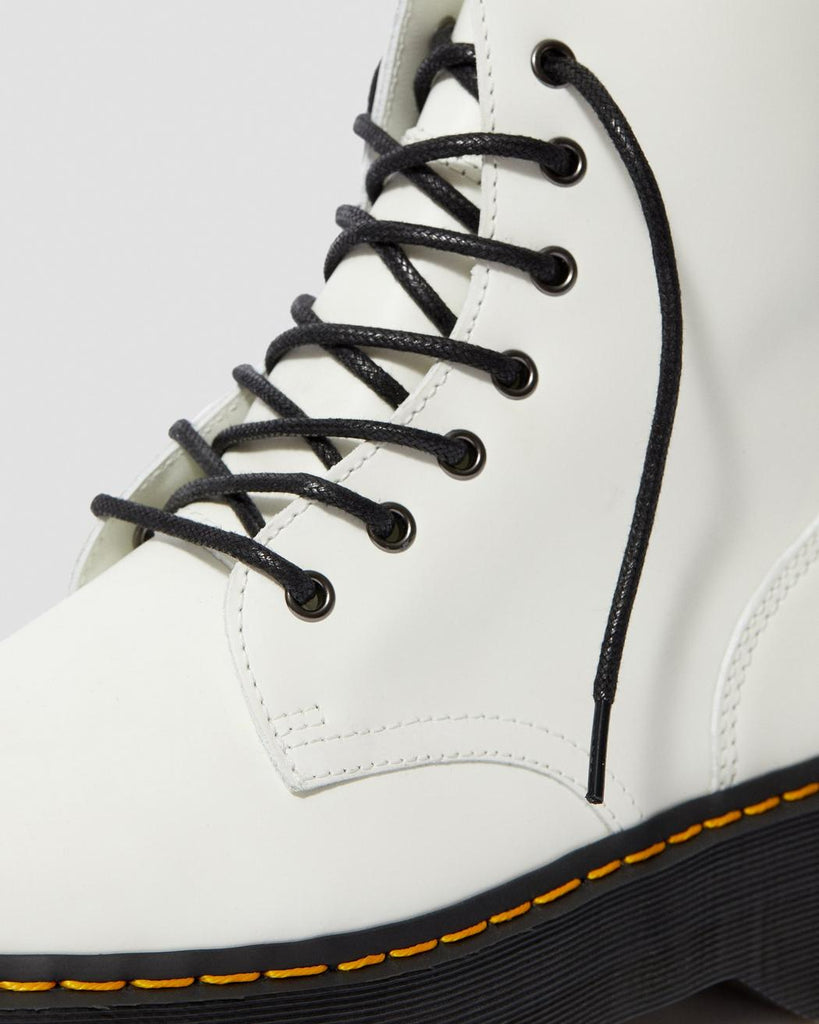 JADON PLATFORM BOOT (UNISEX) - SMOOTH WHITE