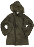FRENCH OD WET WEATHER JACKET WITH HOOD