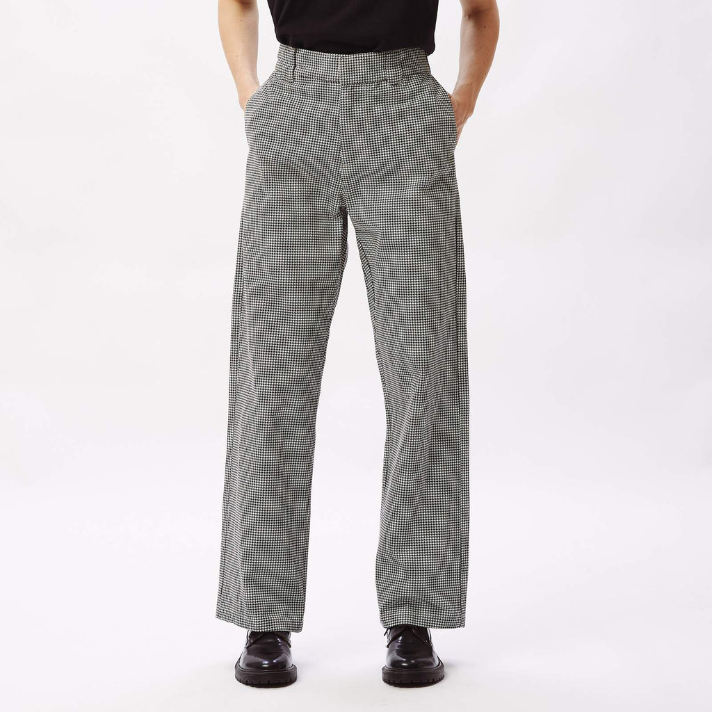 WOMEN'S CREEPER PANT - HOUNDSTOOTH
