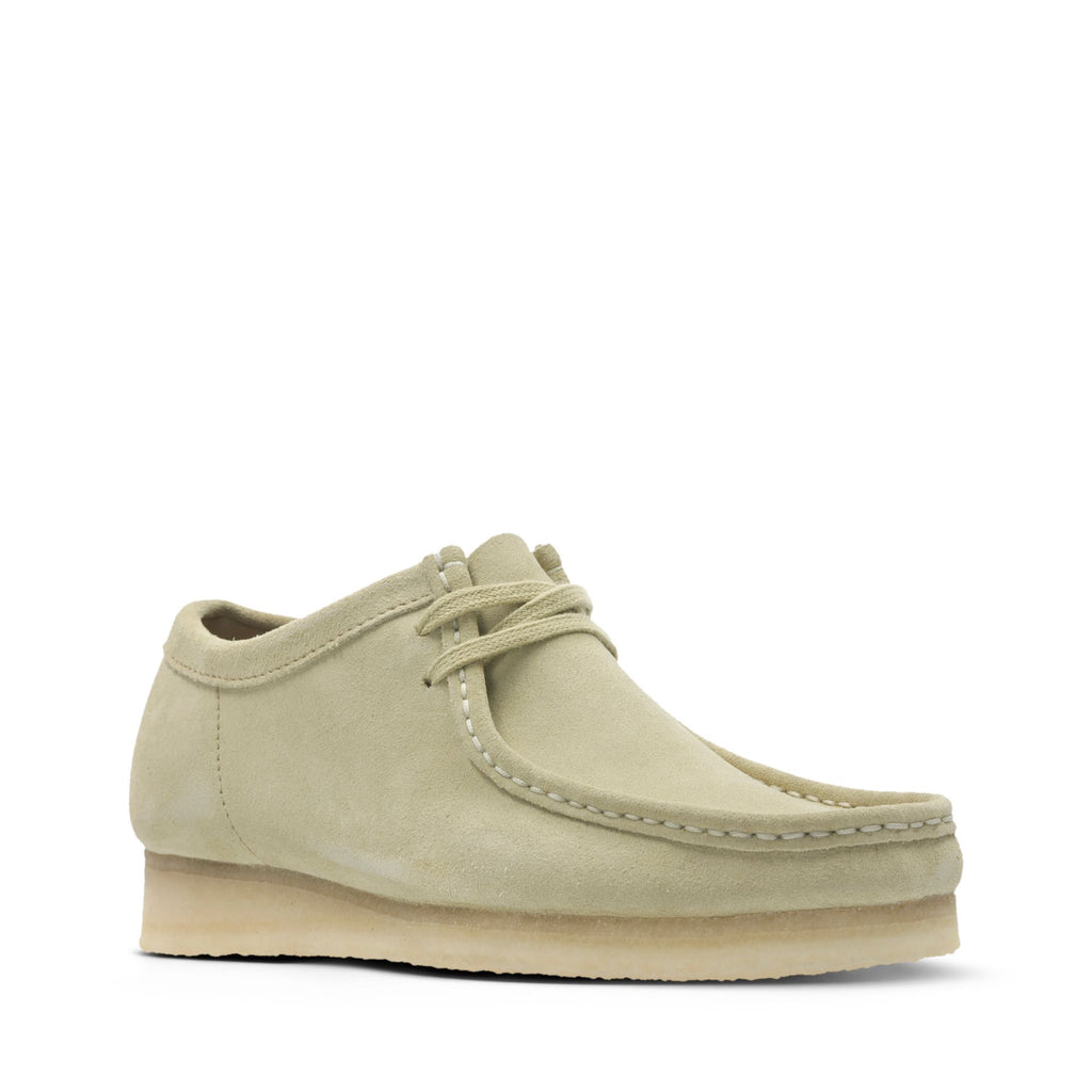 MEN'S WALLABEE SHOE - MAPLE SUEDE