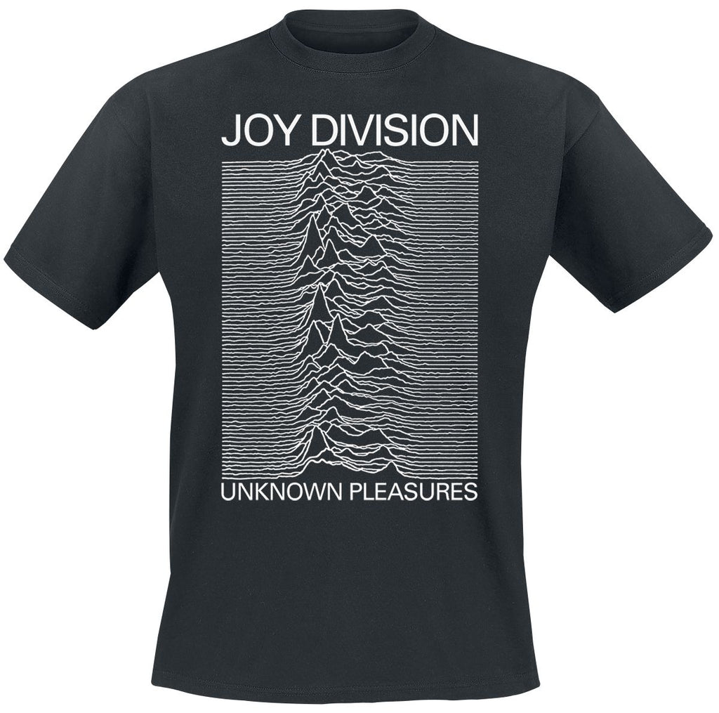 JOY DIVISION UNKNOWN PLEASURE COVER BLACK TEE