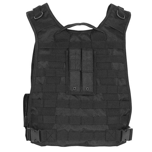 MODULAR PLATE CARRIER VEST (NO PLATE) - BLACK