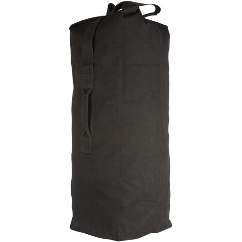CANVAS DUFFLE BAG - TOP LOAD