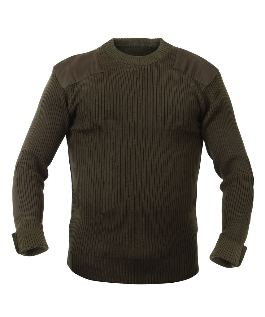 ACRYLIC COMMANDO SWEATER