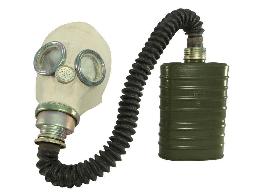POLISH MP-3 GAS MASK WITH BAG