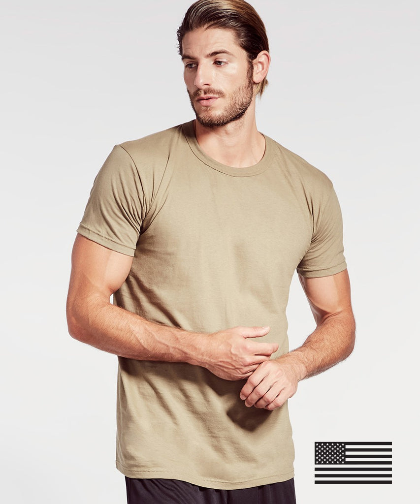 SOFFE 3 PACK CREW NECK T-SHIRTS - OCP ARMY TAN