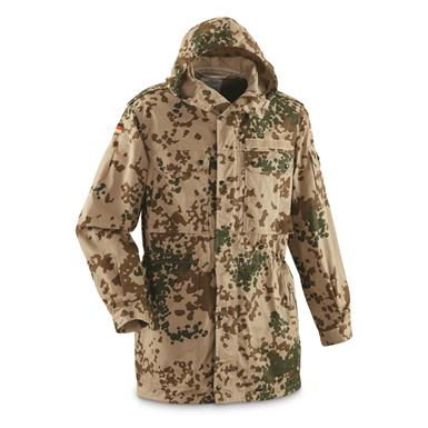 GERMAN TROPICAL CAMO PARKA