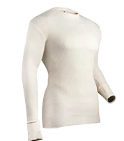 INDERA COTTON HEAVYWEIGHT THERMAL TOP - NATURAL