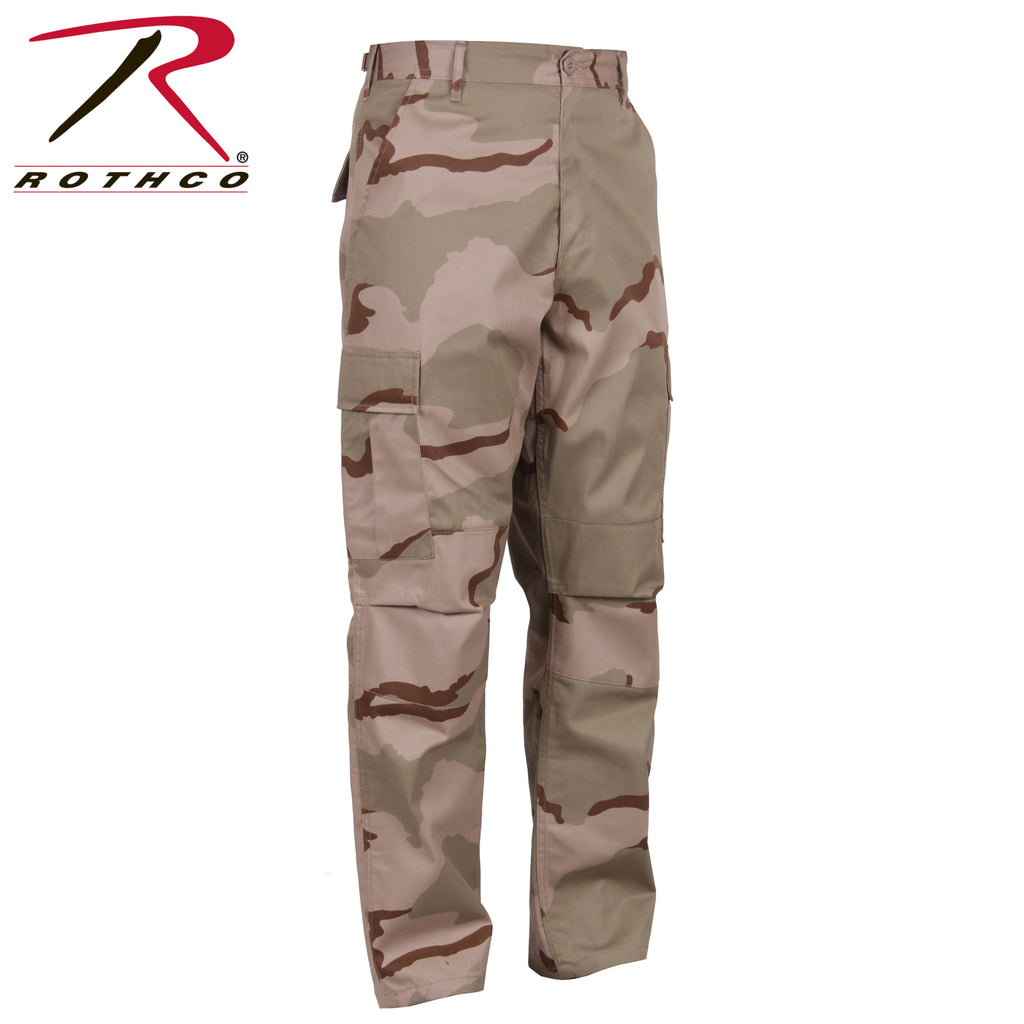 MEN'S RIP-STOP BDU PANT - REGULAR - TRI-COLOR DESERT CAMO