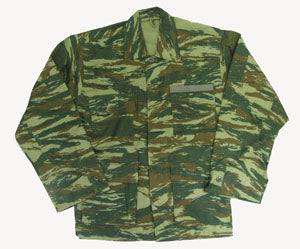 GREEK CAMO BDU JACKET