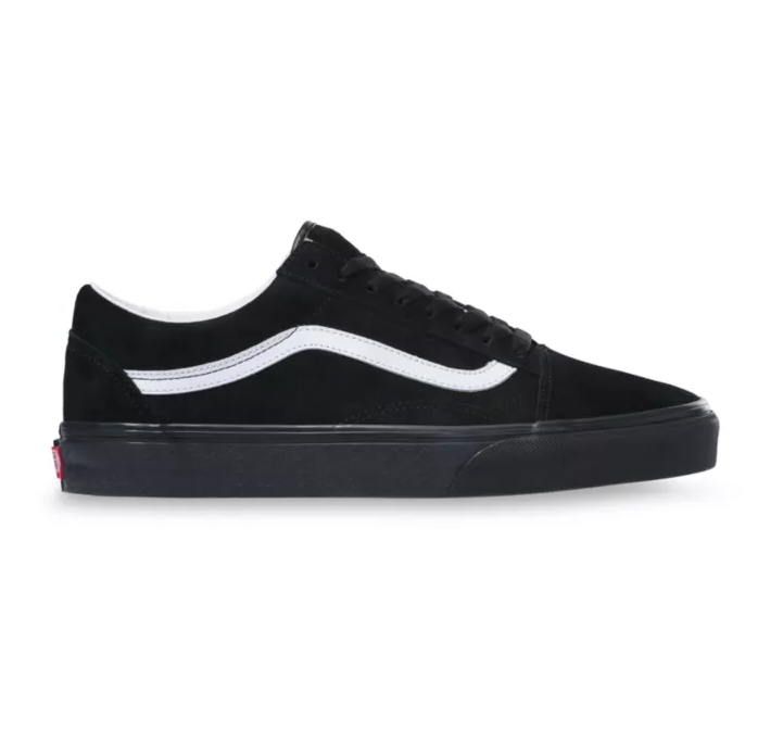 MEN'S PIG SUEDE OLD SKOOL  - BLACK