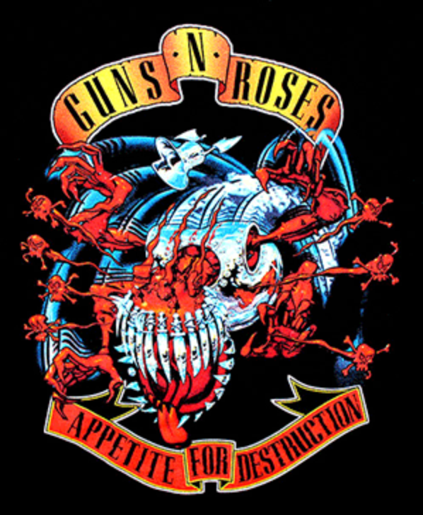 GUNS N ROSES (APPETITE FOR DESTRUCTION)
