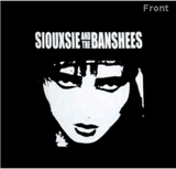 SIOUXSIE AND THE BANSHEES (BW FACE) TEE