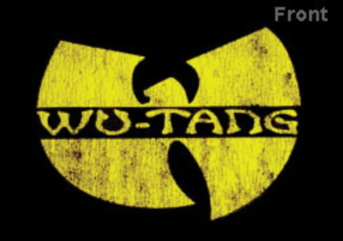 WU TANG (DISTRESSED LOGO) TEE