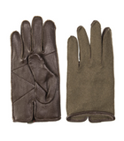 FRENCH LEATHER/WOOL GLOVES