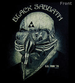 BLACK SABBATH '78 TOUR TEE