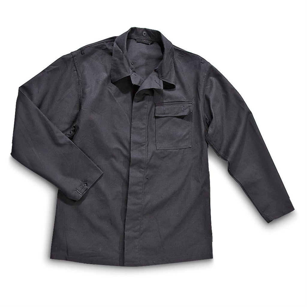 EAST GERMAN BLACK WORK JACKET