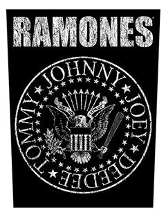 RAMONES (CLASSIC SEAL) BACK PATCH
