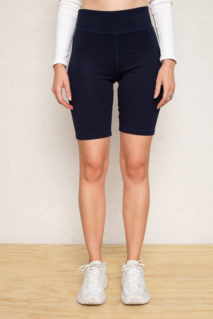 WOMEN'S DANI BIKER SHORT - BLACK