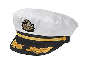 FLAGSHIP ADMIRAL CAPTAIN'S CAP ADJUSTABLE