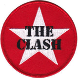 THE CLASH (STAR LOGO) PATCH