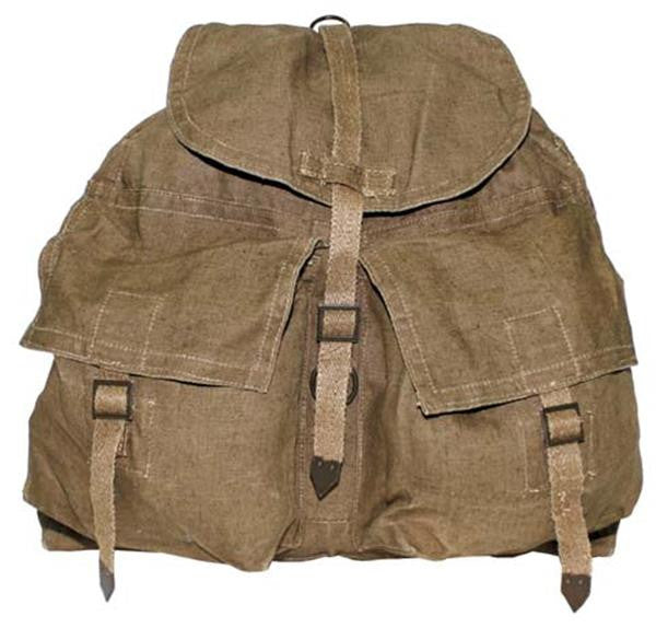 CZECH SMALL RUCKSACK WITH SUPSPENDERS