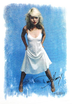 DEBBIE HARRY (WHITE DRESS) TEE